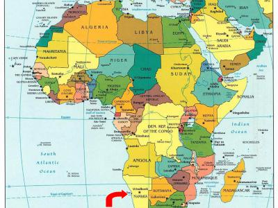 Afrika - Namibië